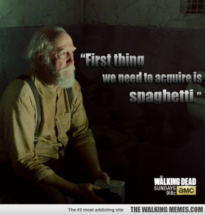 Hershel inspirational quote promo.