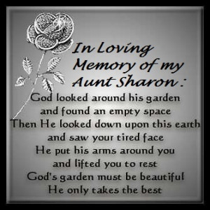 miss you aunt sharonAunts Sharon, Sadness Quotes
