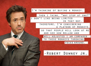 well adjusted Robert Downey Jr.