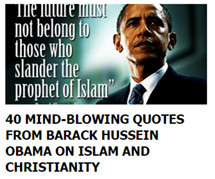 40 MIND-BLOWING QUOTES FROM BARACK HUSSEIN OBAMA ON ISLAM AND ...