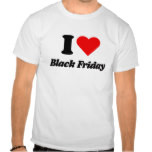 heart Black Friday T-shirts