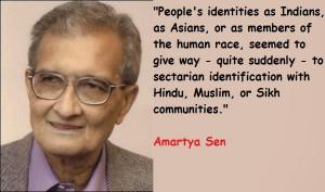 Quotes And Sayings Of Nobel Prize Winner Amartya Sen