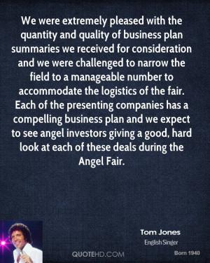 Tom Jones Quotes