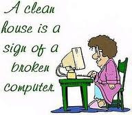 Funny Cleaning the House Quotes