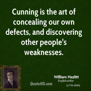 William Hazlitt Art Quotes