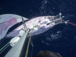 16-Year-Old Girl Sailing Around the World in Pink Boat