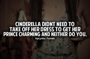 Cinderella Didn't Need To Take Off Her Dress to get her prince ...