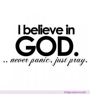 believe in God, always keep hope!