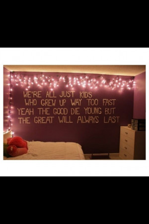 Tumblr Room Wall Quote