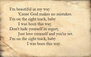 Lady Gaga- Born This Way