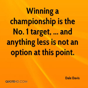 No Option Quotes A championship is the no