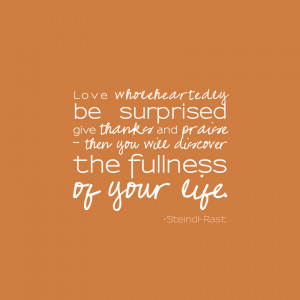 My favorite quote, for my favorite day.