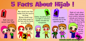 The Hijaab shouldn't attract attention
