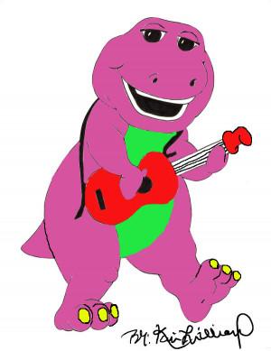 Image Barney The Dinosaur...
