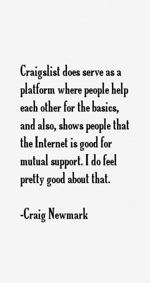 Craig Newmark Quotes & Sayings