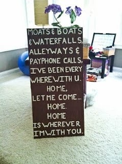 Do it yourself wall quotes!