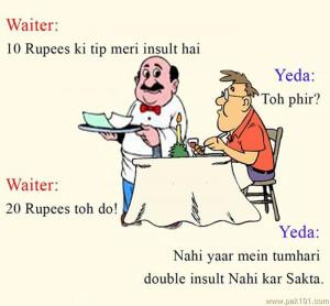 Waiter Tip