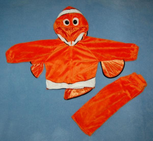 ... NEMO Orange Fish Costume Infant Baby Sz 12-18 m Months Halloween