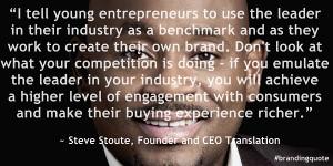 Steve Stoute [Branding Quote]