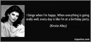 More Kirstie Alley Quotes