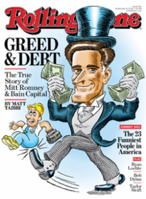 Matt Taibbi: Mitt Romney Made His Money Borrowing Money Other People ...