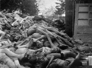 Holocaust: this is what racism/humanity is capable of. In