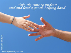 Lending a Helping Hand Quotes