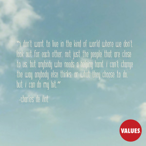 An inspiring quote about #reachingout from www.values.com #dailyquote ...