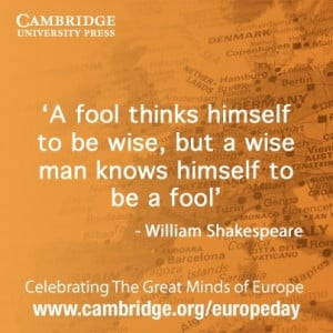 William #Shakespeare quote #EuropeDay