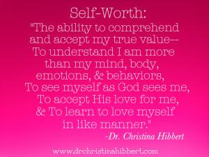 Understanding Self-Worth: