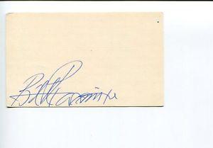 William Proxmire Wisconsin WI US Senator Congress Signed Autograph