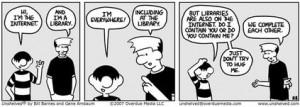 Funny Library Cartoons