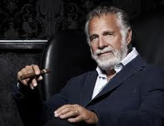 Dos Equis Guy His mother has a tattoo that says,