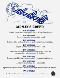 air force creed