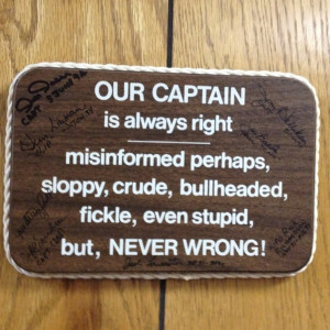 Oh captain, my captain! quotes