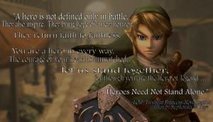 LOZ: Twilight Princess Novel Inspirational Quote by Stephonika-W-Kaye