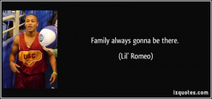 Family Is Always There Quotes