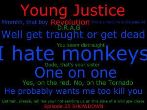 Young Justice Quotes by Zipponinja