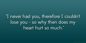 Heart Hurt