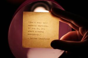 Holden Caulfield Quotes Allie