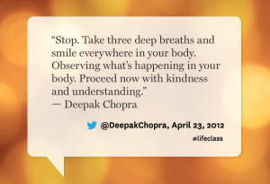 Deepak Chopra Love Quotes: 11 Most Tweeted Quotes From Oprah's ...