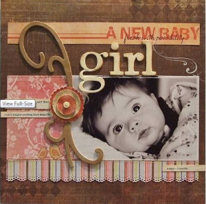 baby girl page