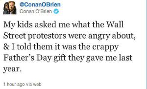 funny Conan O Brien twitter quote kids