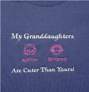 My Granddaughters Are Cuter Than Yours Sweatshirt