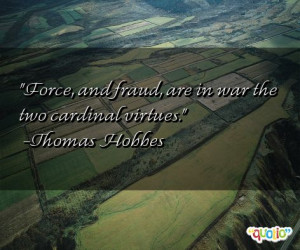 Cardinal Virtues Quote