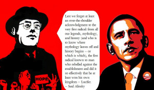Messiah' Obama quotes from Saul Alinsky's 'Rules For Radicals' to ...