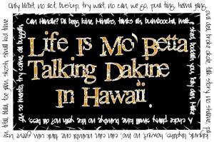 Hawaiian Phrases and Sayings