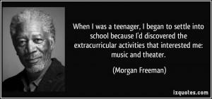 More Morgan Freeman Quotes