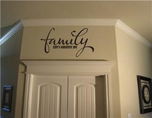 Vinyl Wall Sayings for Home | Details about Family Joy 18x10 Vinyl ...