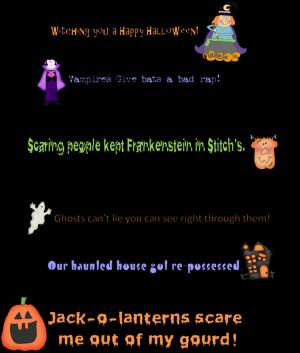 Halloween Fun Sayings